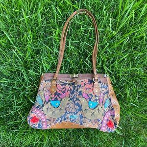 """Oilily Embellished Bag 11"""" x 8"""""""